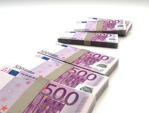 Kasoittain rahaa